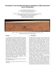Visualization Tools Facilitate Geological ... - UC San Diego