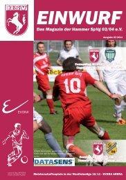 Das Magazin der Hammer SpVg 03/04 e.V. - Zur HSV-Homepage