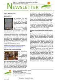 Gäa-Newsletter 07 2012