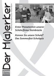 3/2009 - Waldorfschule Märkisches Viertel
