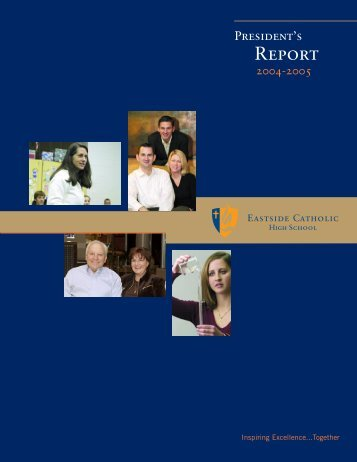 REPORT - Eastside Catholic School