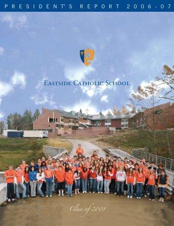 Class of - Eastside Catholic School
