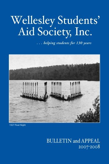 Wellesley Students' Aid Society, Inc. - Wellesley College