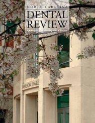 Spring 2008 - UNC School of Dentistry - University of North Carolina ...