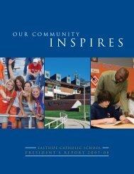INSPIRES - Eastside Catholic School
