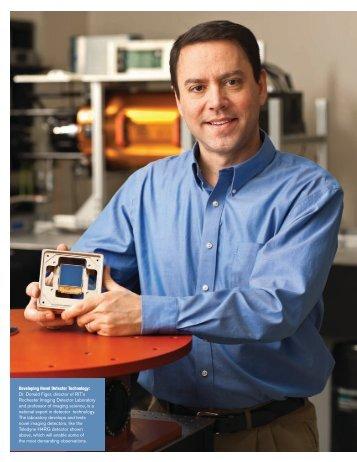 Developing Novel Detector Technology: Dr. Donald Figer, director of ...