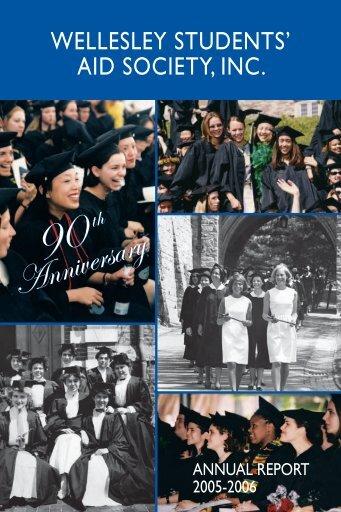 Anniversary Anniversary - Wellesley College