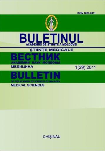 2011, nr. 1 - Academia de Ştiinţe a Moldovei
