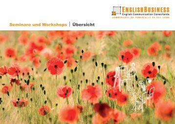 Seminare und Workshops Übersicht - English Business
