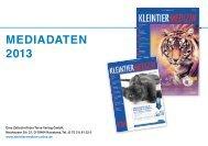 KTM Mediadaten 2013 - mollmedia