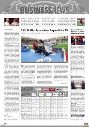 335,56 Mio. Fans sahen Bayer 04 im TV - Bayer 04 Leverkusen