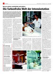 Die farbenfrohe Welt der Intensivstation - longlife.medical-tribune.de ...