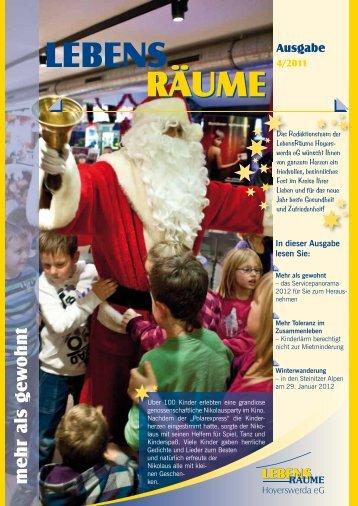 Ausgabe 4/2011 - LebensRäume Hoyerswerda eG