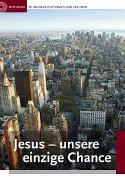 Jesus – unsere einzige Chance - die Apis Memmingen