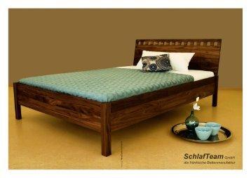 """Katalog """"Bettenmanufaktur SchlafTeam"""""""