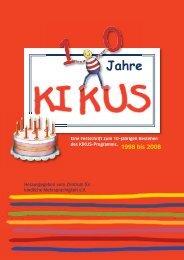 10 Jahre KIKUS - Zentrum für kindliche Mehrsprachigkeit
