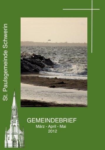 St.Paul Schwerin März - April - Mai ´12 - Kirchenkreis Wismar