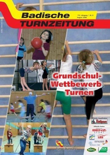 August (2.991 Kb) - Badischer Turner Bund