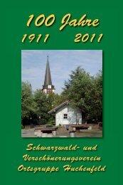 Vereinschronik - Schwarzwaldverein Huchenfeld
