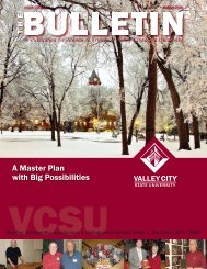 bulletin march 2008.indd - Alumni Association - Valley City State ...