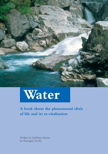 A book about the phenomenal elixir of life and its re-vitalisation