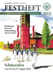 FESTHEFT - St. Sebastianus Schützenbruderschaft Holzbüttgen