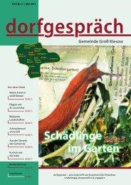 Ausgabe 04/2011 - Dorfzeitung MV