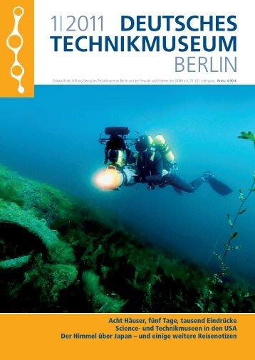 Leseprobe 1|2011 (PDF) - Deutsches Technikmuseum Berlin