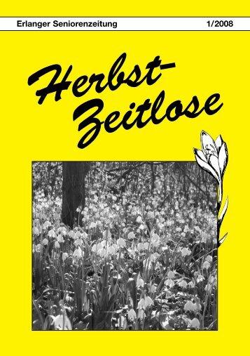 Gefährdete Pflanzen und Tiere 2008 - Herbst-Zeitlose