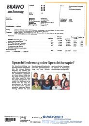 Brandenburg - Deutscher Bundesverband für Logopädie e.V.