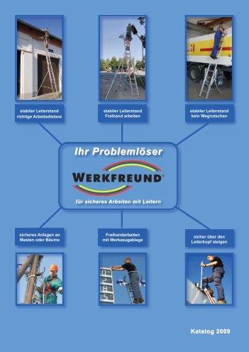 Produktkatalog - Werkfreund Leiter-Sicherheitssysteme GmbH
