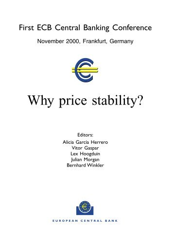 Why price stability? - Suomen Pankki