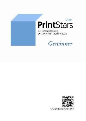 Die Gewinner - Innovationspreis der Deutschen Druckindustrie