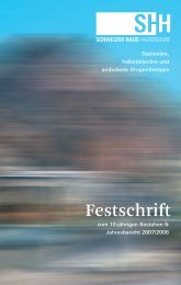 Festschrift - SHH