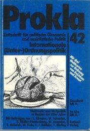 l1.Jahrgang 1981 Nr. 1 - Prokla