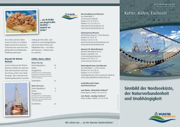 Kutter, Häfen, Fischerei - Wurster