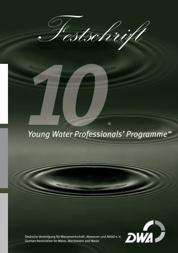 """""""Young Water Professionals' Programme"""" - DWA"""