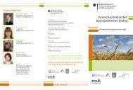 Deutsch-Ukrainischer Agrarpolitischer Dialog