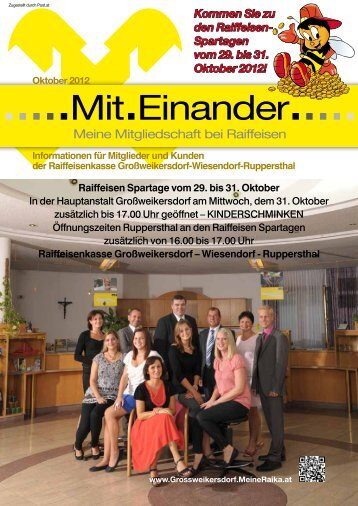 als PDF herunterladen - Raika Großweikersdorf - MeineRaika.at