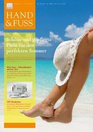 Schöne und gepflegte Füße für den perfekten Sommer