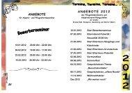 Angebote für Adoptiv- u. Pflegeeltern 2012 - Ennepetal