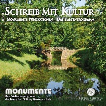 Kartenprogramm - Deutsche Stiftung Denkmalschutz