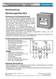Dämmerungsrelais DS 6 - Ziehl industrie-elektronik GmbH + Co KG