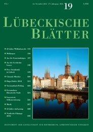 19_LB177.pdf - Lübeckische Blätter