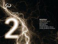 Mahler: Symphony No 2 – Valery Gergiev, conductor - London ...