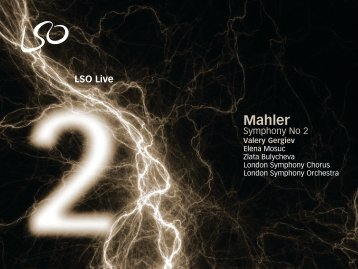 Mahler: Symphony No 2 – Valery Gergiev, conductor - London ...