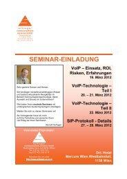21. März 2012 VoIP-Technologie - Schlager Communications ...