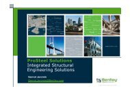 ProSteel Solutions Integrated Structural ... - bentleyuser.dk