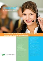 Mobile Device and Service Management - Works Systems, Inc.