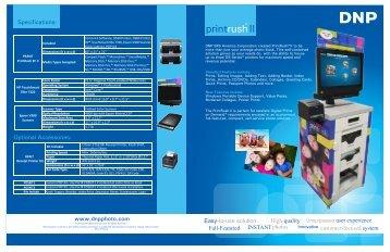 product sheet 2012 printrush II .pdf - DNP IMS America Corp. - Photo ...